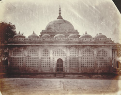 North façade of Shah Alam's Tomb, Ahmadabad